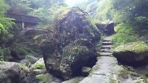 これが神戸岩?